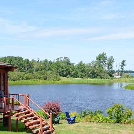 Hütte des Pictou Lodge Resorts
