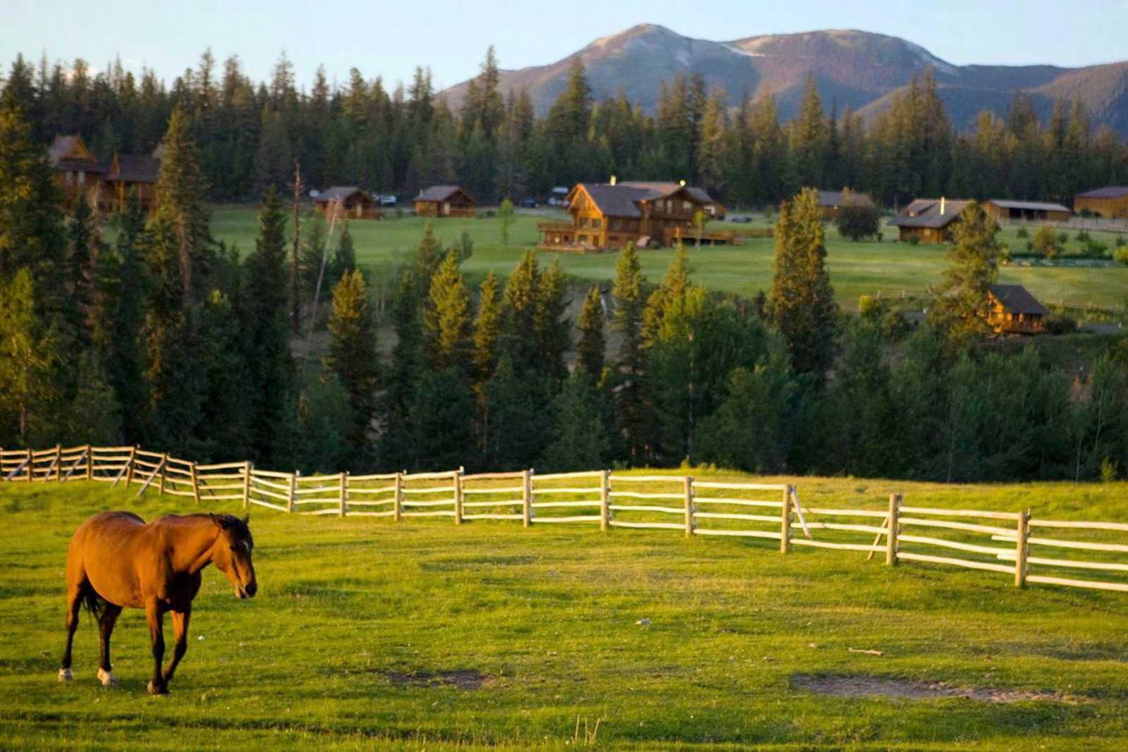 Gelände der Echo Valley Ranch