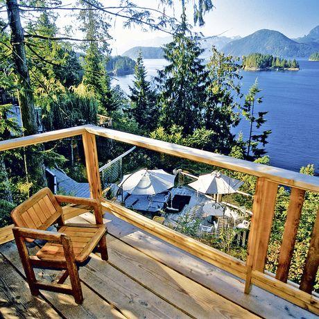 Balkon West Coast Wilderness Lodge