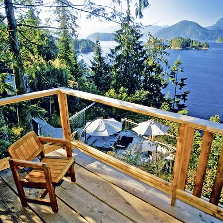 Balkon West Coast Wilderness Lodge