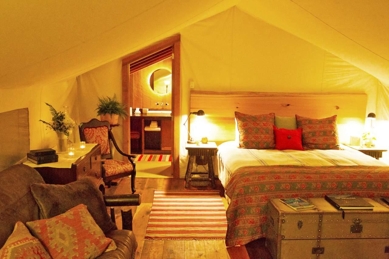 Innenansicht im Clayoquot Wilderness Resort