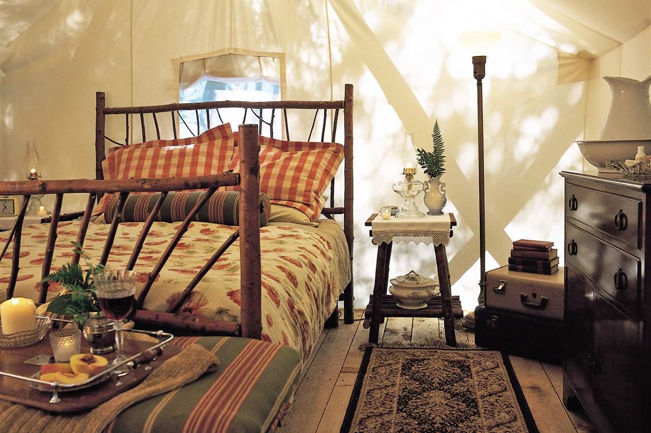 Zimmerbeispiel im Clayoquot Wilderness Resort