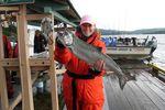 Geführter Angelausflug zum Lachs-Fischen - Painter's Lodge