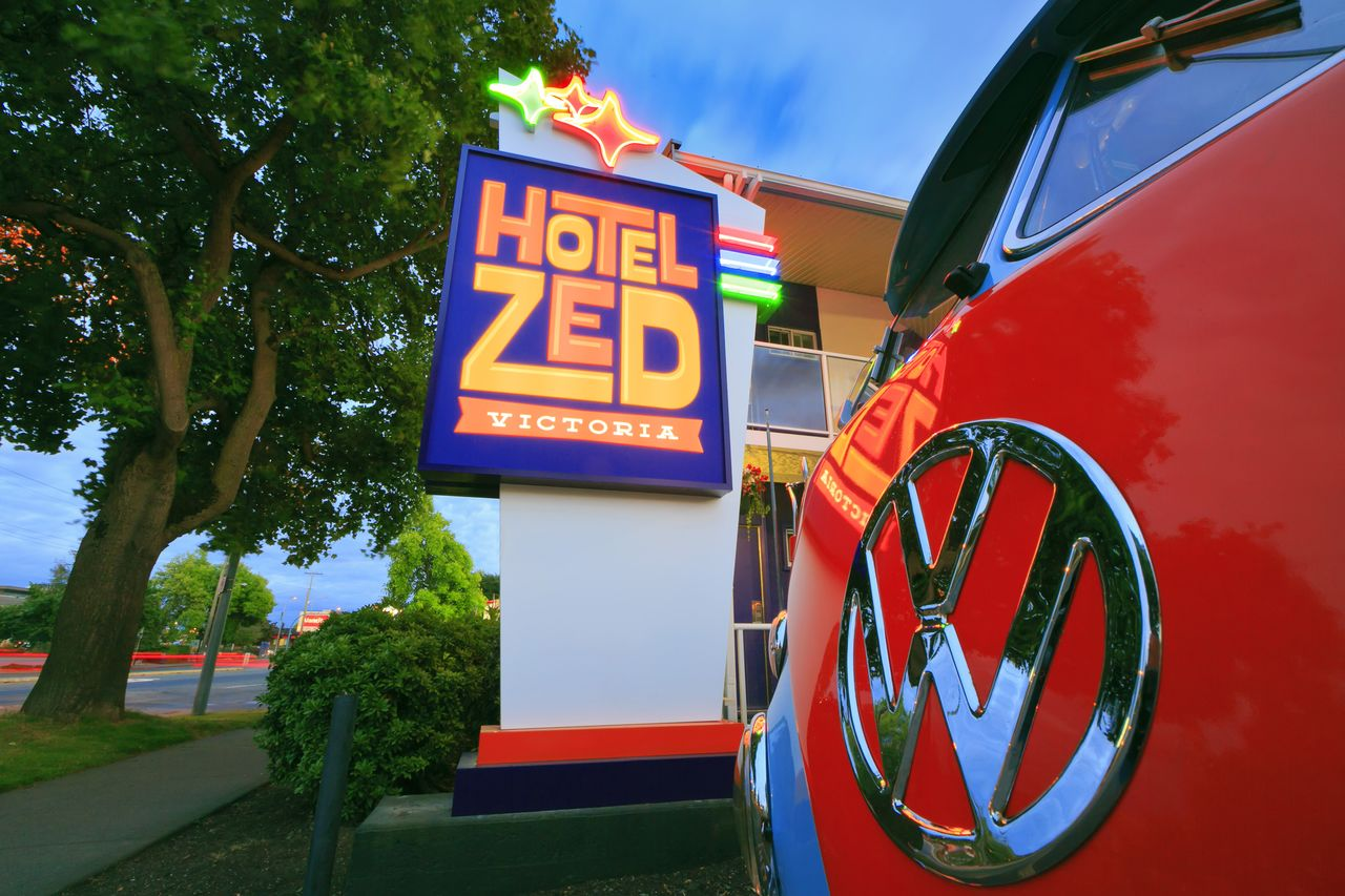 Hotel Zed Victoria Vancouver Island