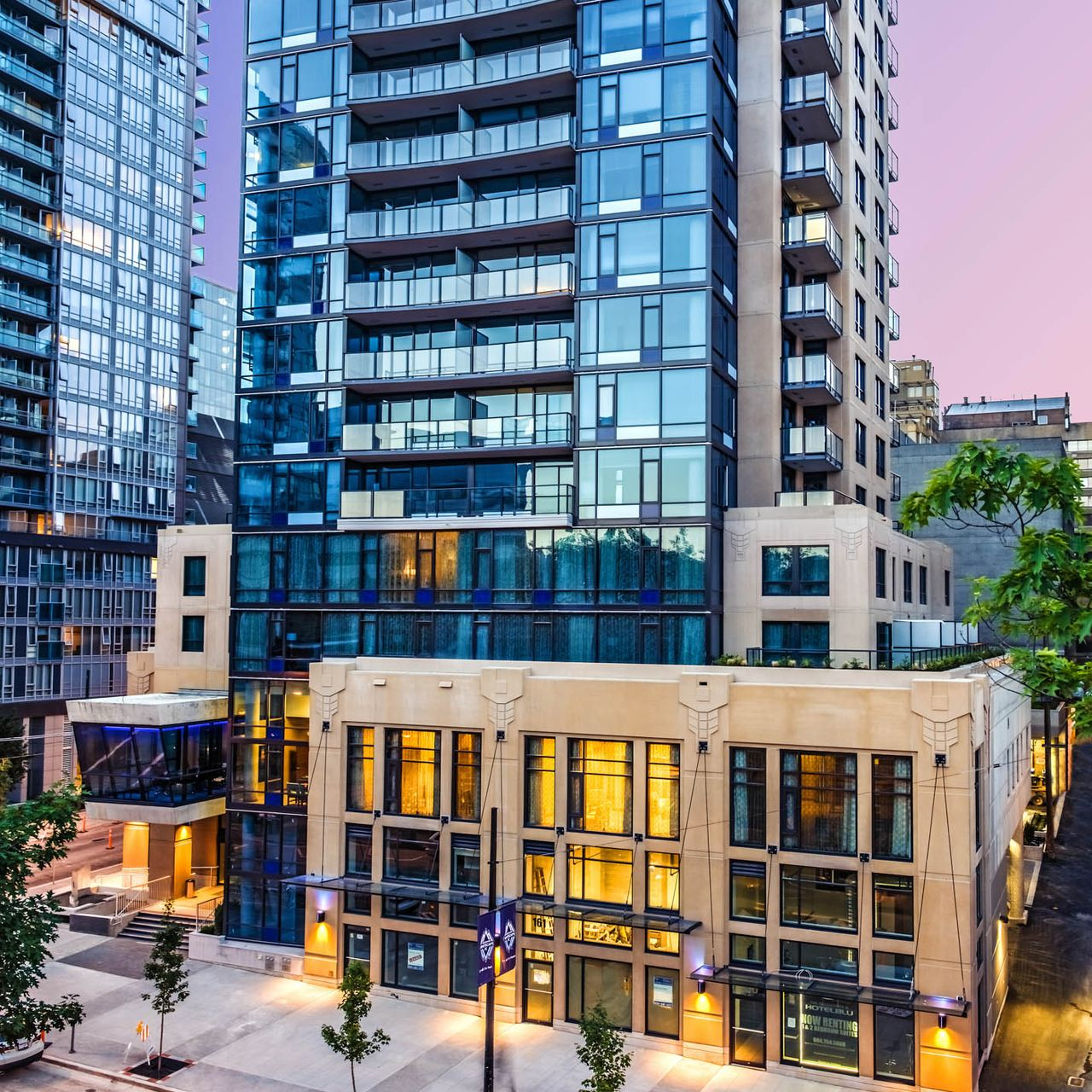 Hotel british columbia hotel blu vancouver canusa for Stylische hotels