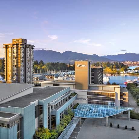 Aussenanicht des Westin Bayshore in Vancouver; BC