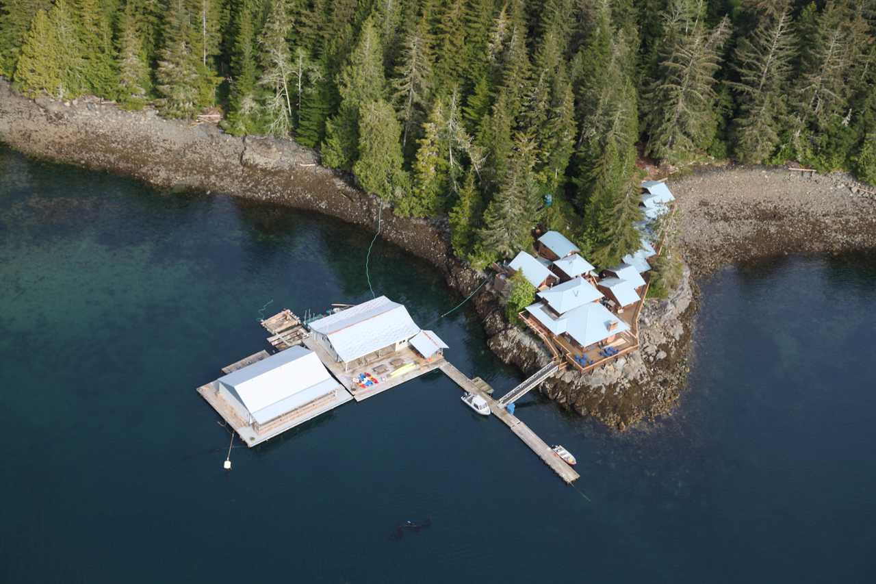 Die Farewell Harbour Lodge in British Columbia