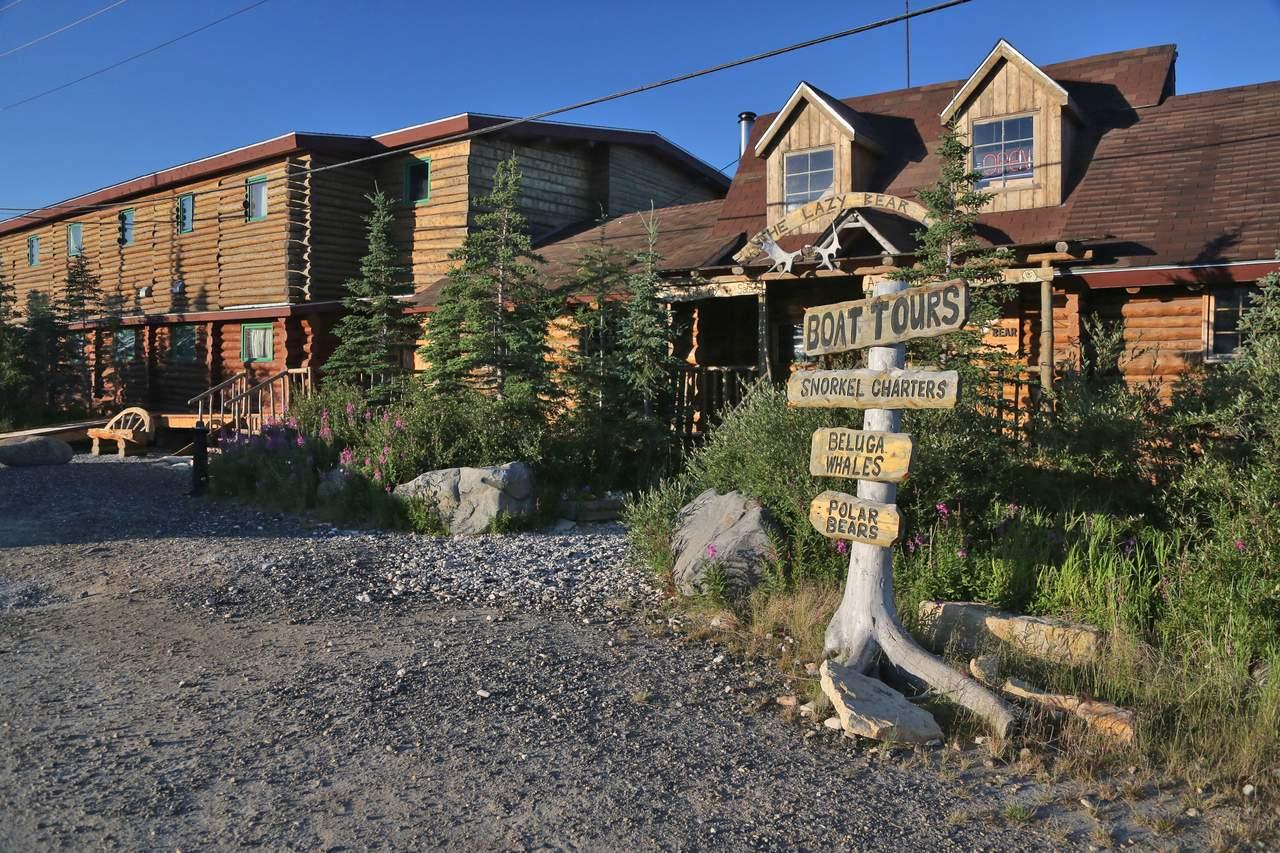 Die Lazy Bear Lodge in Churchill, Manitoba