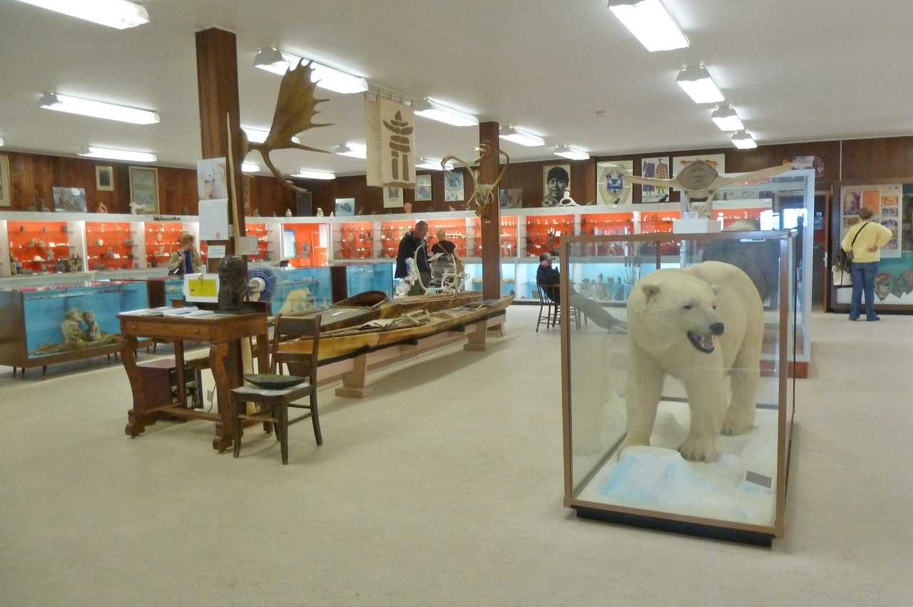 Cabinet War Rooms in Churchill, Manitoba