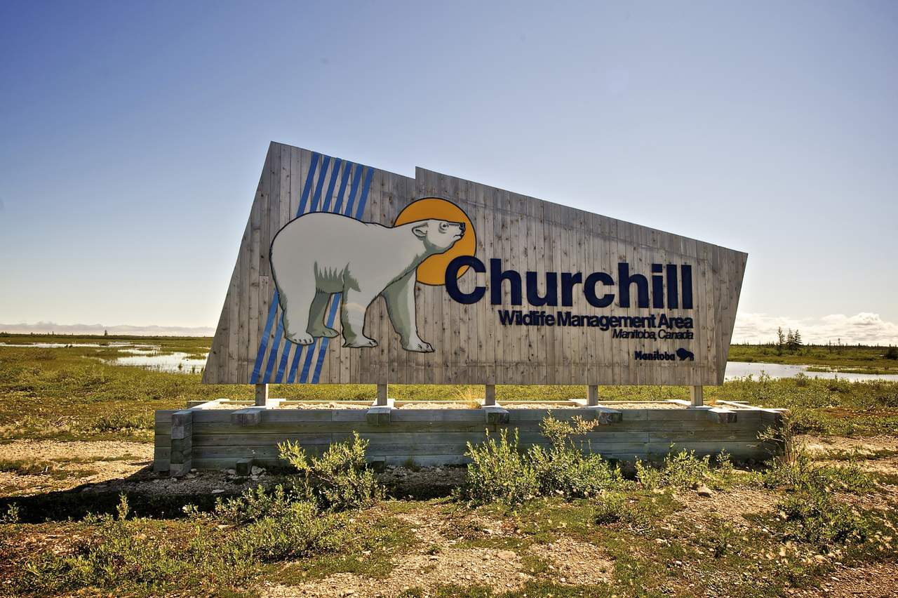 Welcome to Churchill, Manitoba