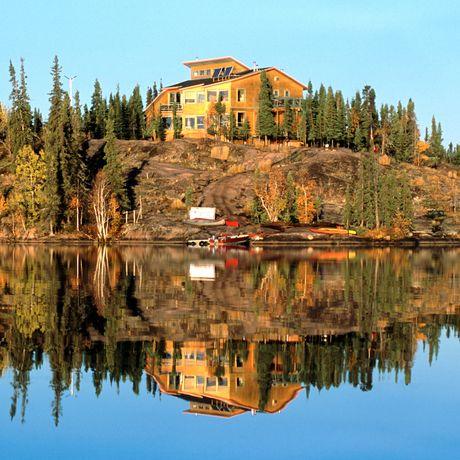 Aussenansicht des Blachford Lake Lodge and Wilderness Resort