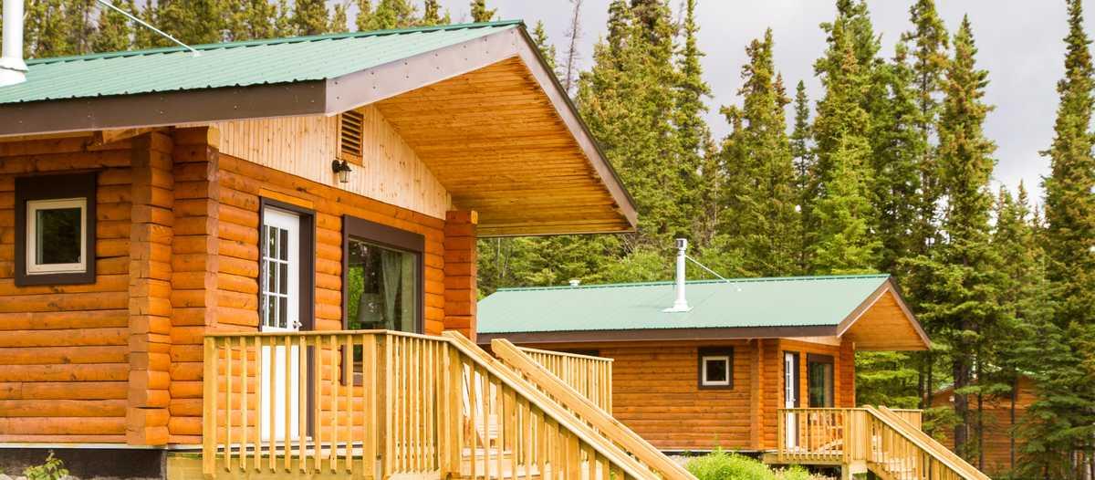 Huetten im Southern Lakes Resort, Yukon