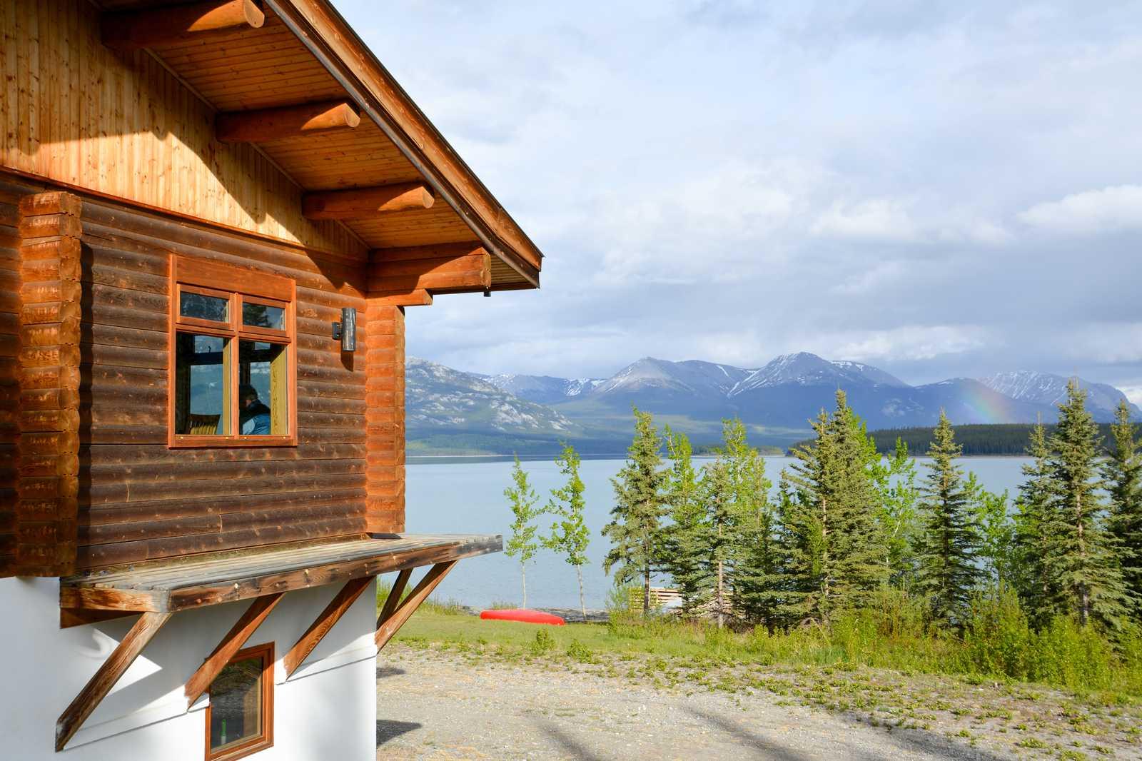Wildnis-Lodge im Yukon