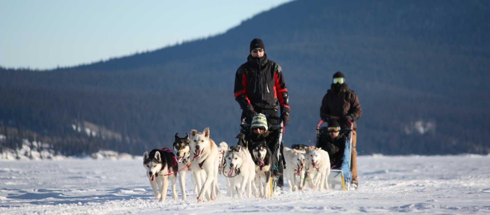Erlebnisse an der Tagish Wilderness Lodge im Yukon, Kanada