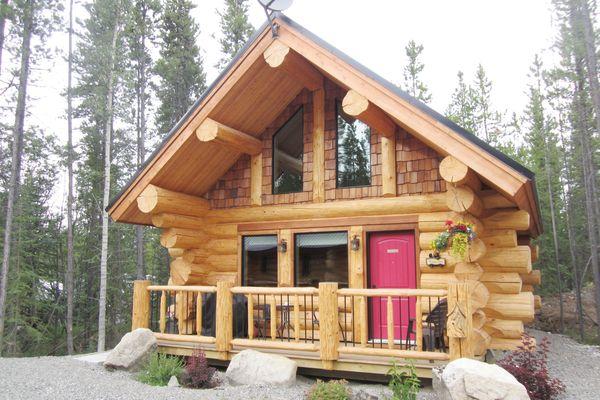 hotel kanada yukon pines cabins canusa. Black Bedroom Furniture Sets. Home Design Ideas
