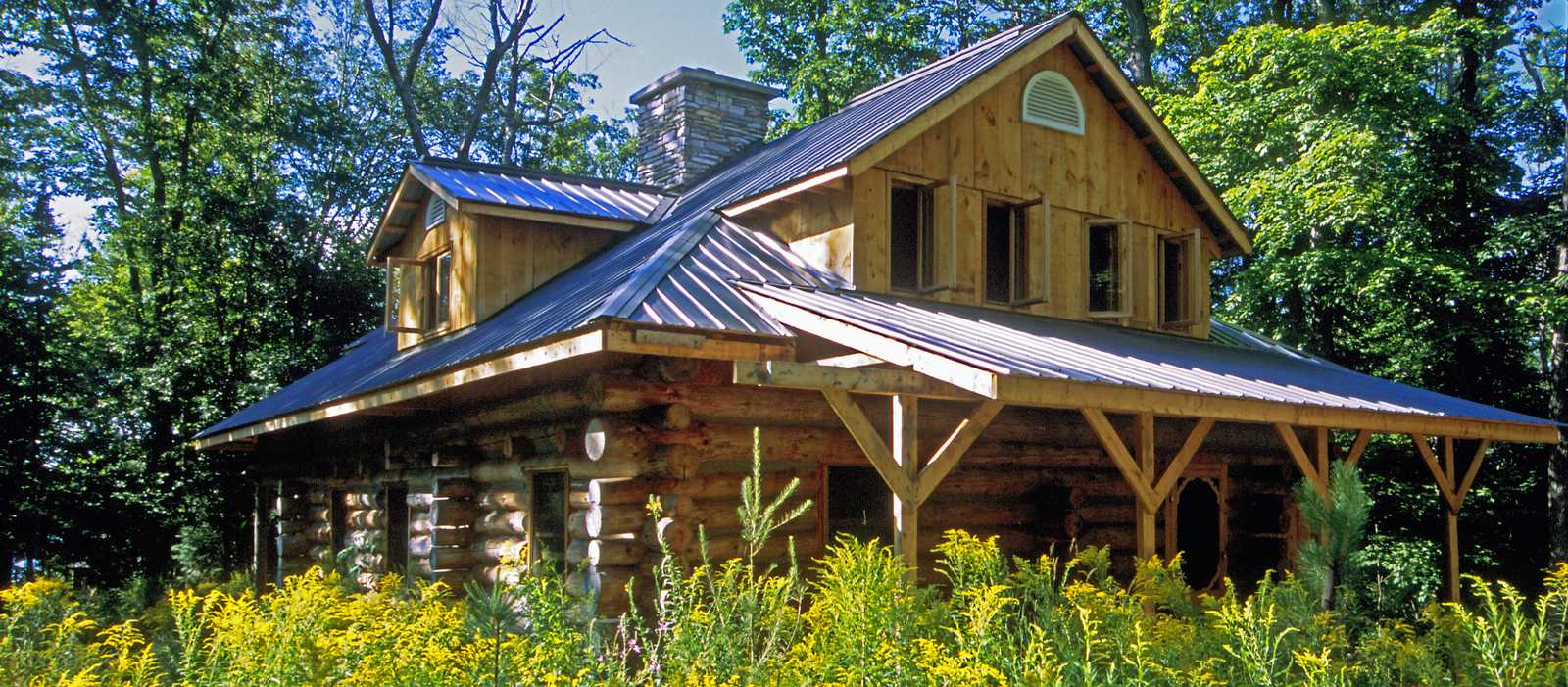 Algonquin Log Cabin