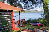 Private Cabin direkt am See