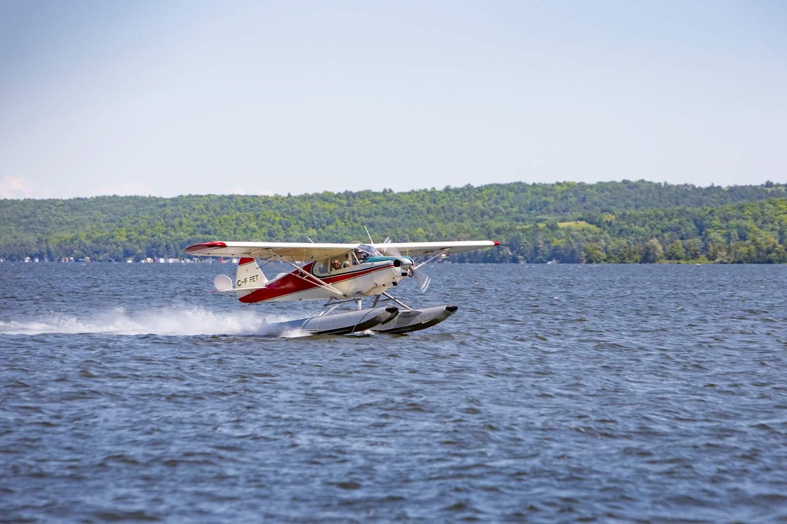 Ausflug mit dem Wasserflugzeug