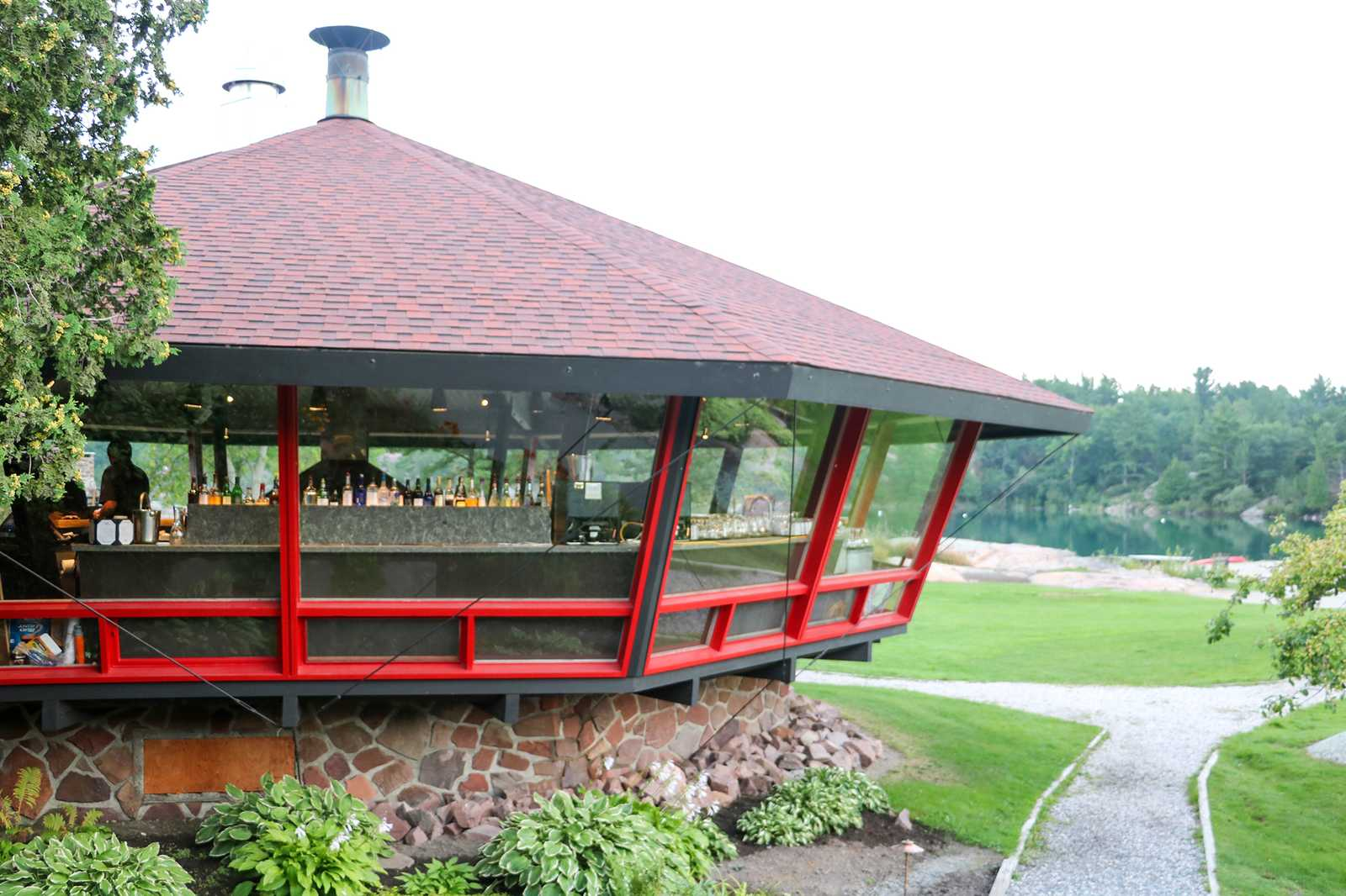 Bar im Pavillon