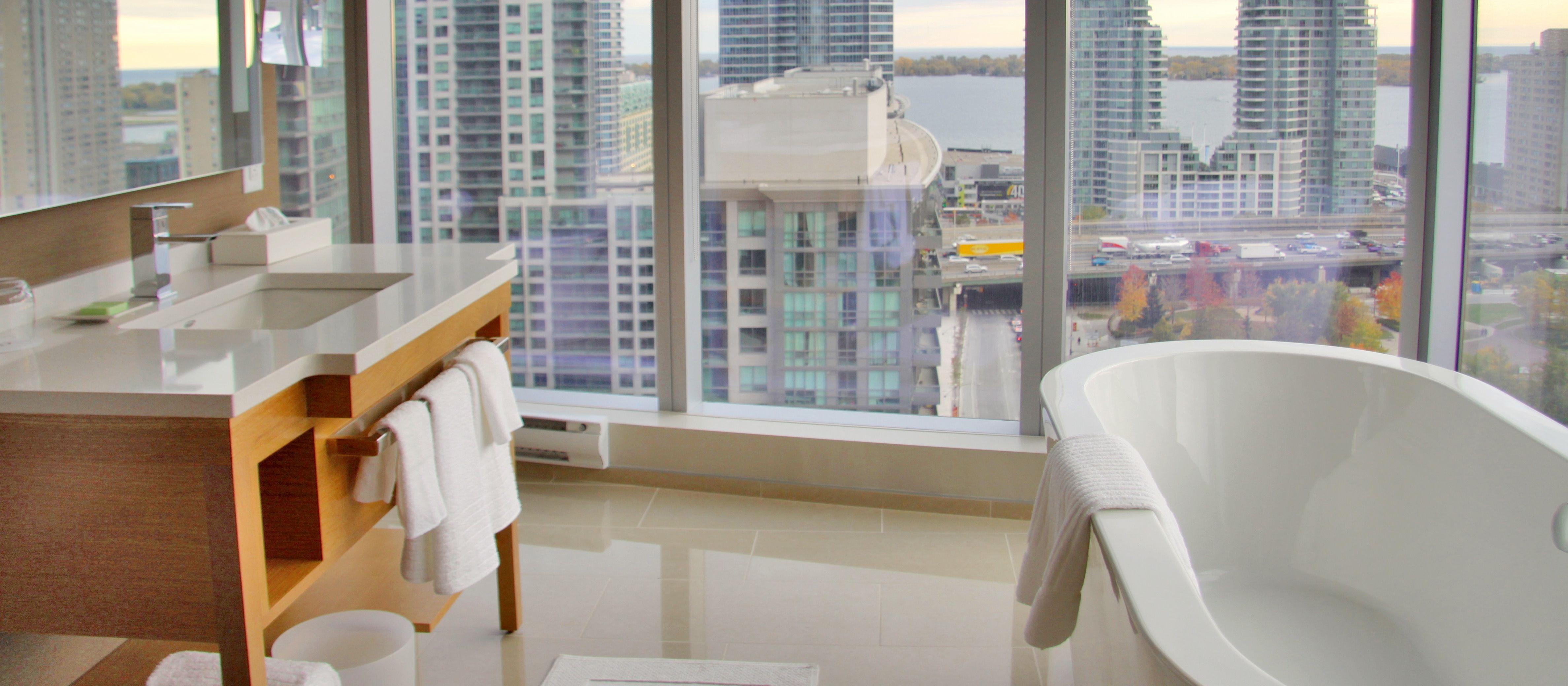 Corner Room im Delta Hotel Toronto