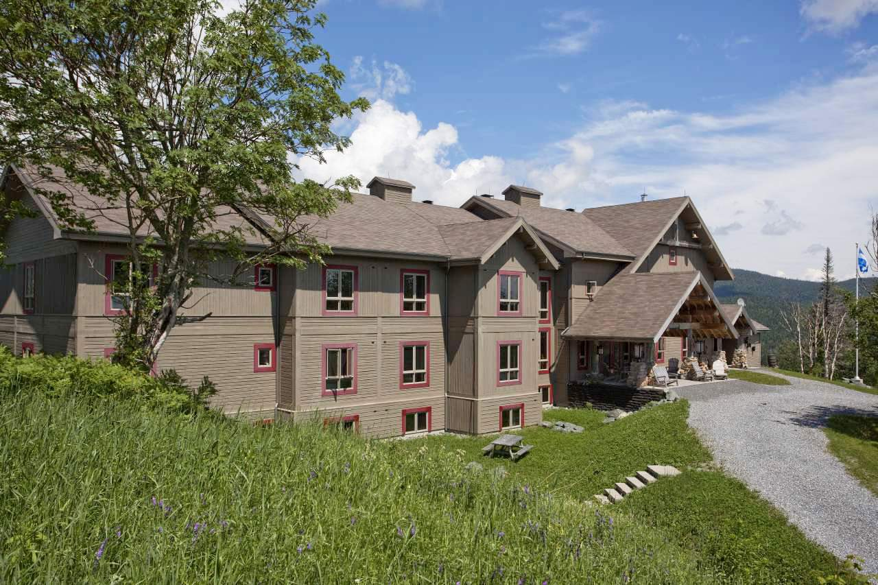 Die Chic-Chocs Mountain Lodge in Quebec