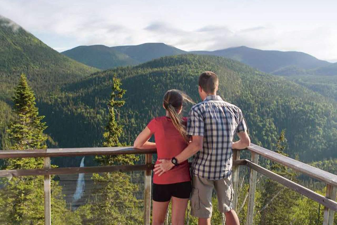 Impressionen der Chic-Chocs Mountain Lodge in Quebec