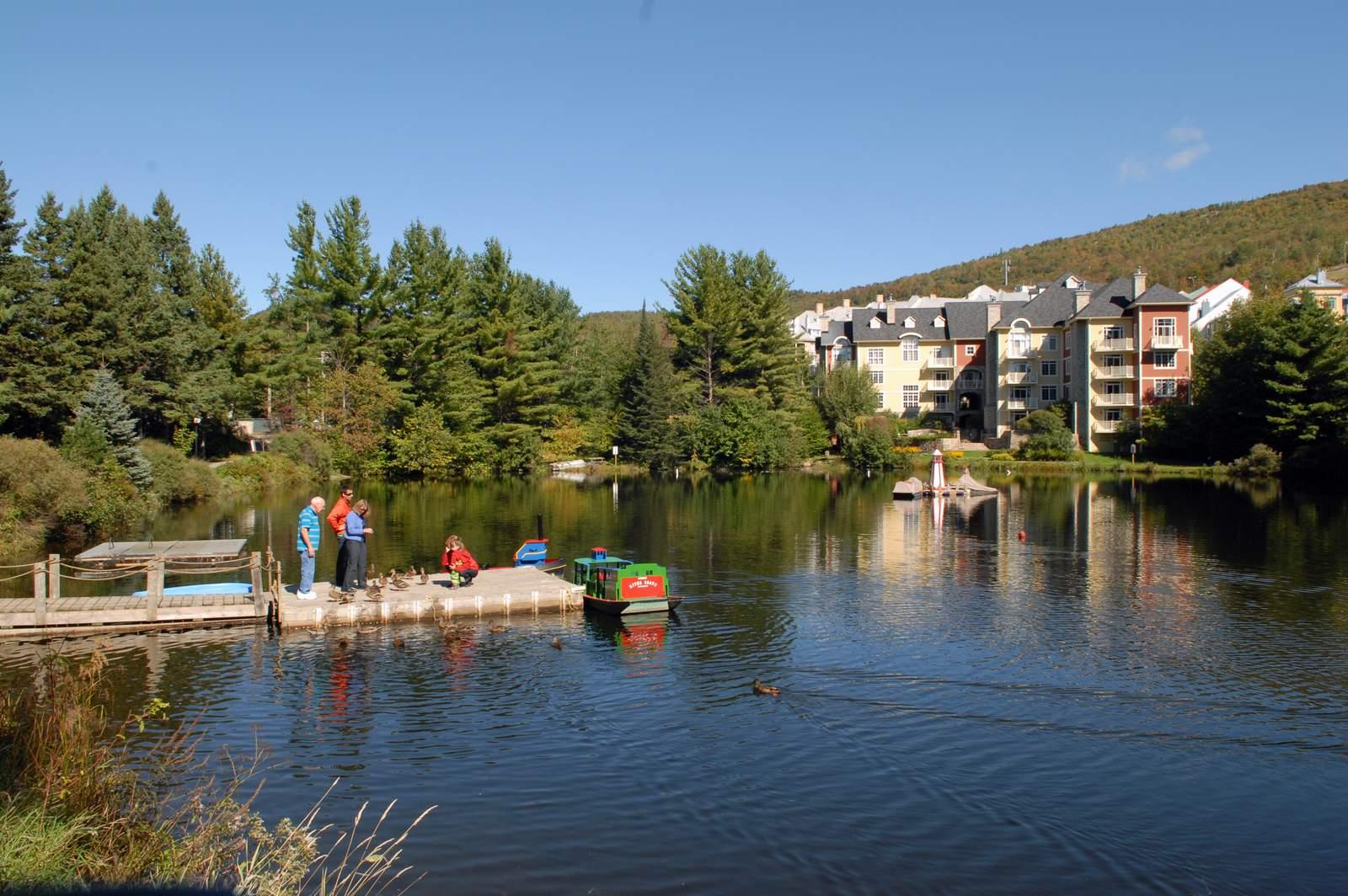Blick auf den Lac Tremblant