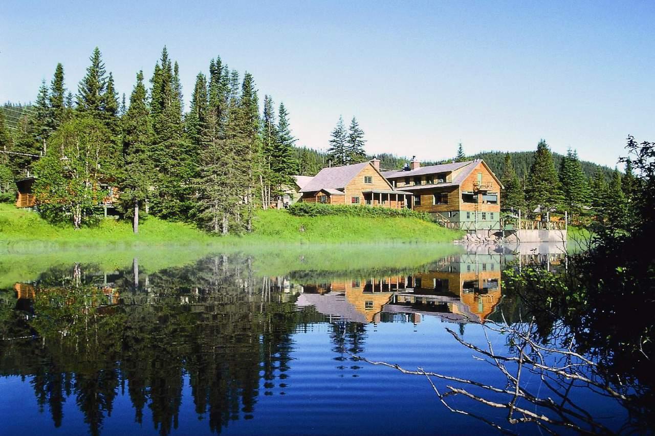 Les Portes de L'Enfer Lodge, Hütte für Bärenbeobachtung