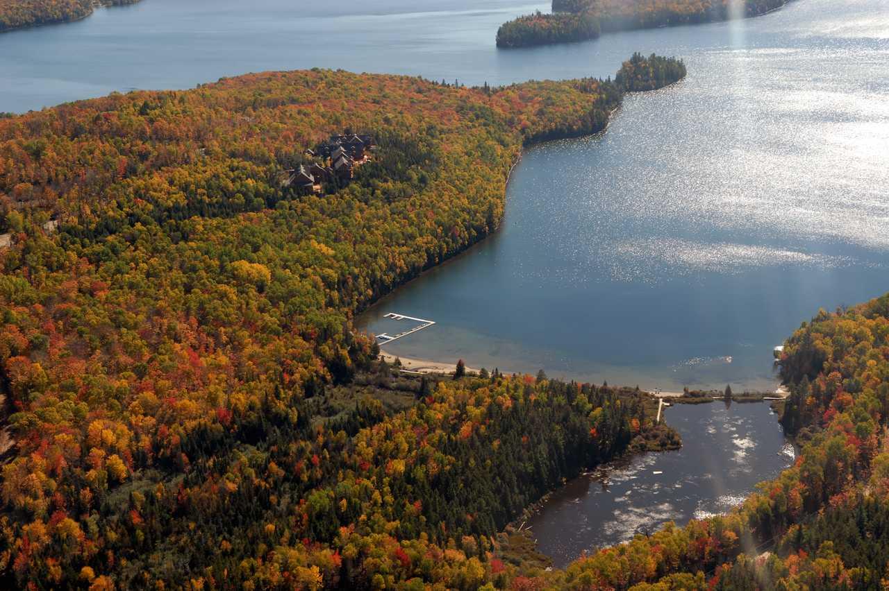 Wunderschöne Landschaft in Québec