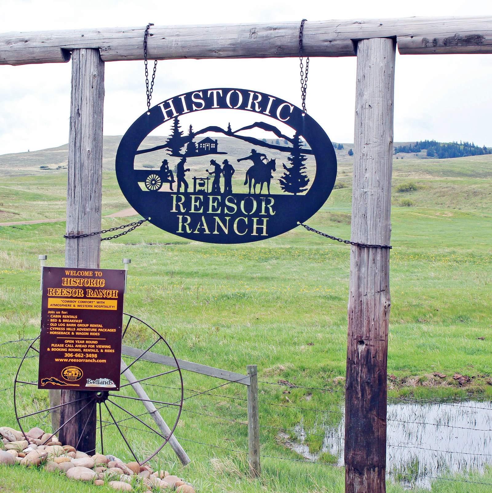 Willkommen in der Historic Reesor Ranch