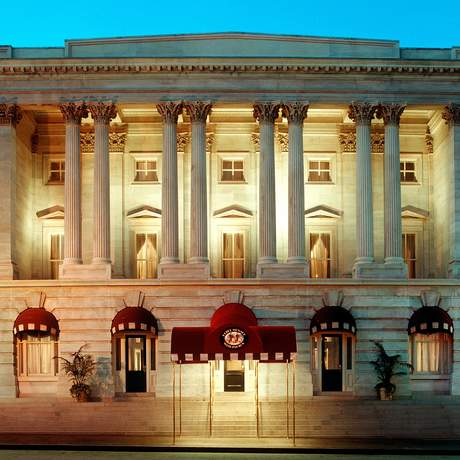 Fassade des Kimpton Hotel Monaco, Washington, DC