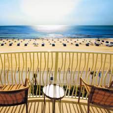Hilton Virgina Beach Oceanfront, Blick vom Balkon