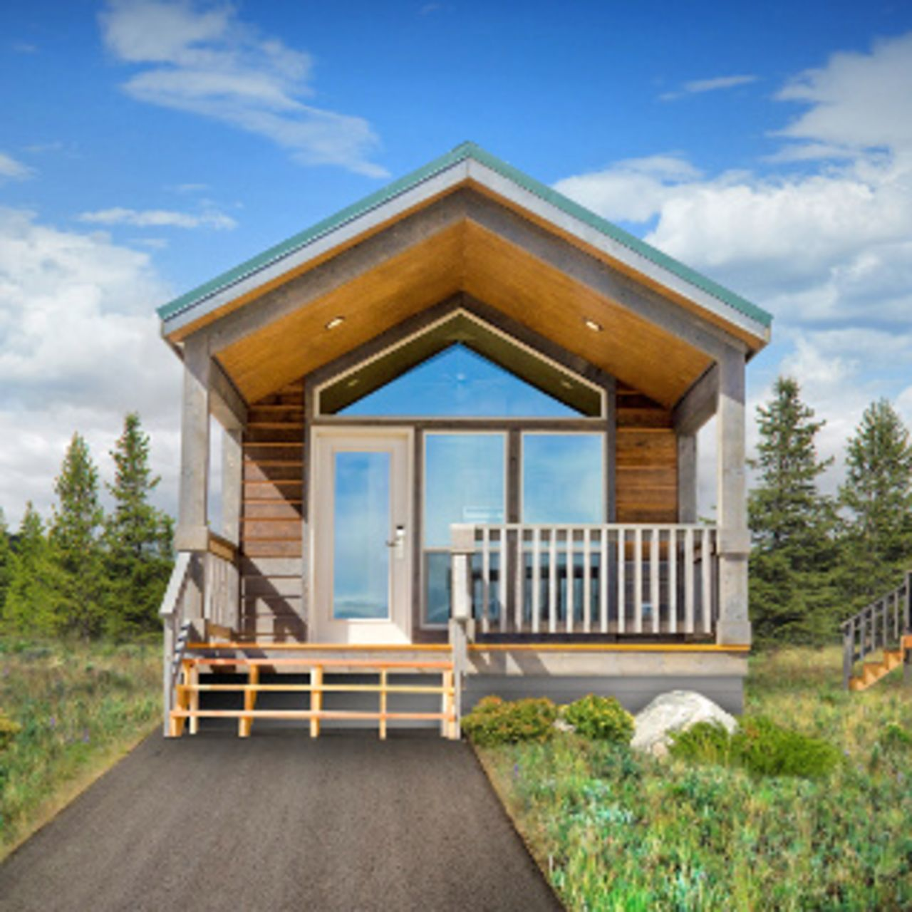 Hotel wyoming explorer cabins at yellowstone canusa for Cabins west lodging