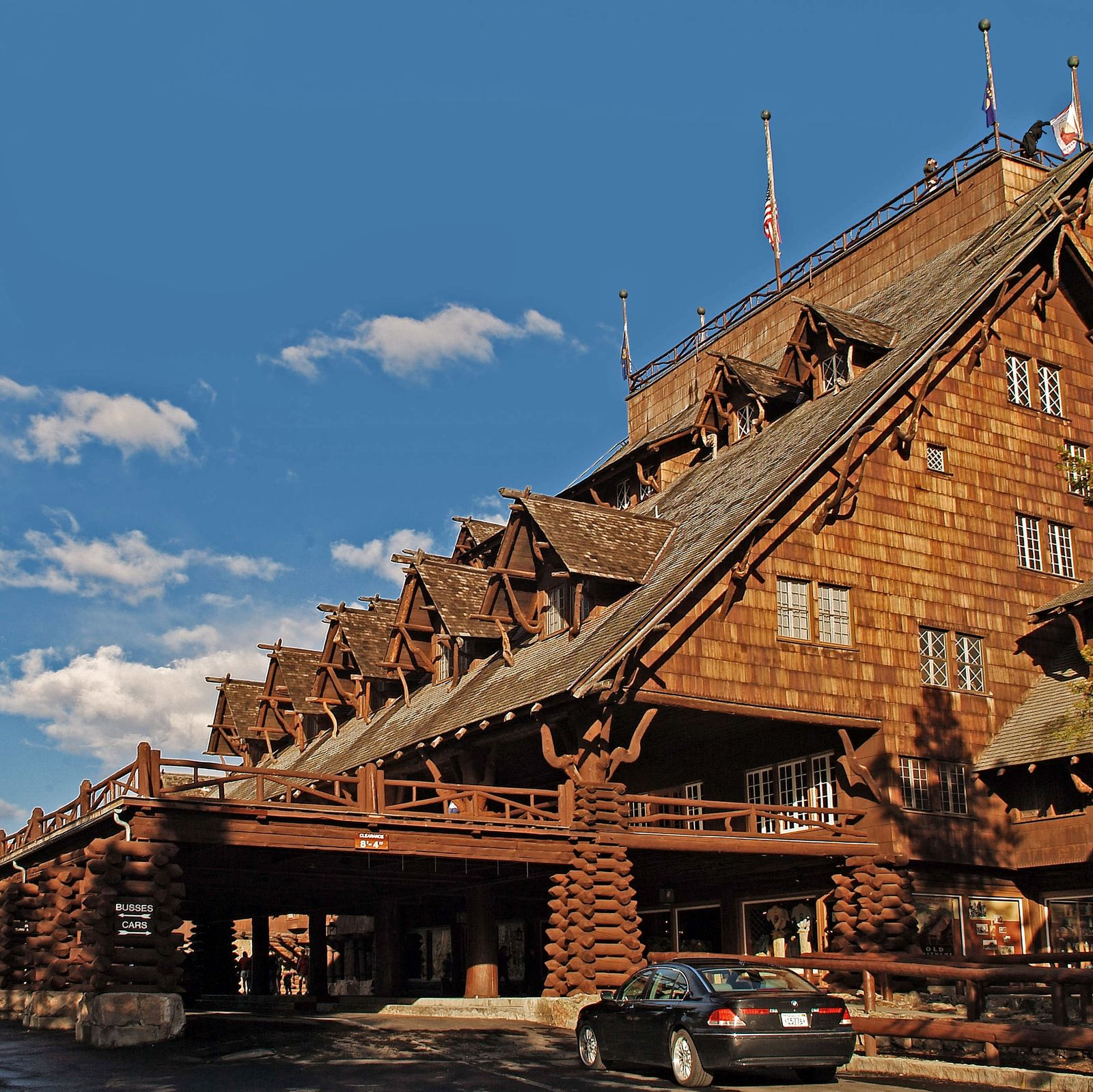 Hotel Wyoming Old Faithful Inn Canusa