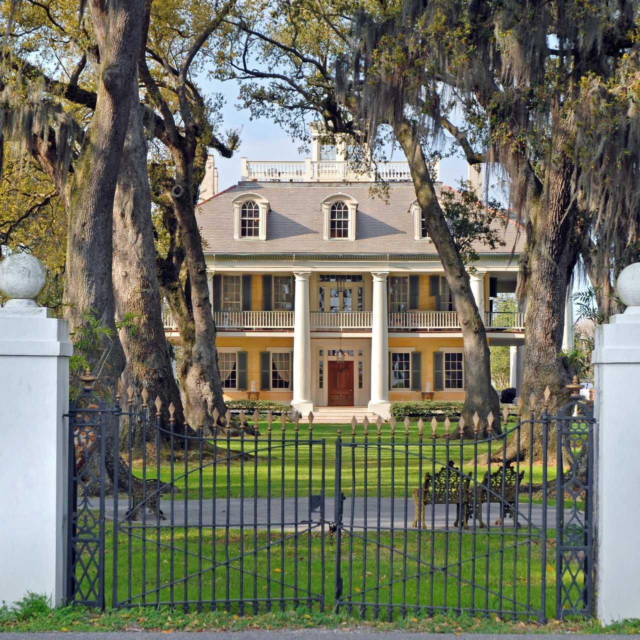 Plantagenhäuser und Mansions in den Südstaaten | CANUSA