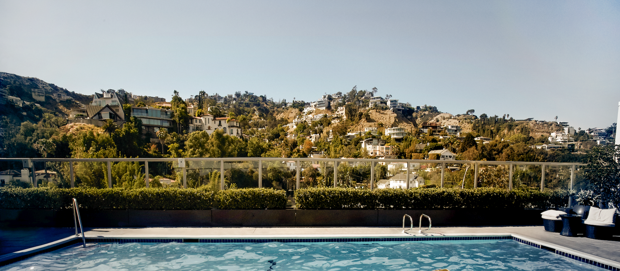 Der Pool des Andaz West Hollywood in Los Angeles