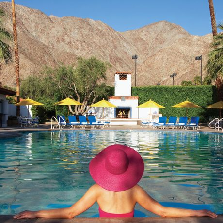 Pool-Impressionen des La Quinta Resort & Club in Palm Springs