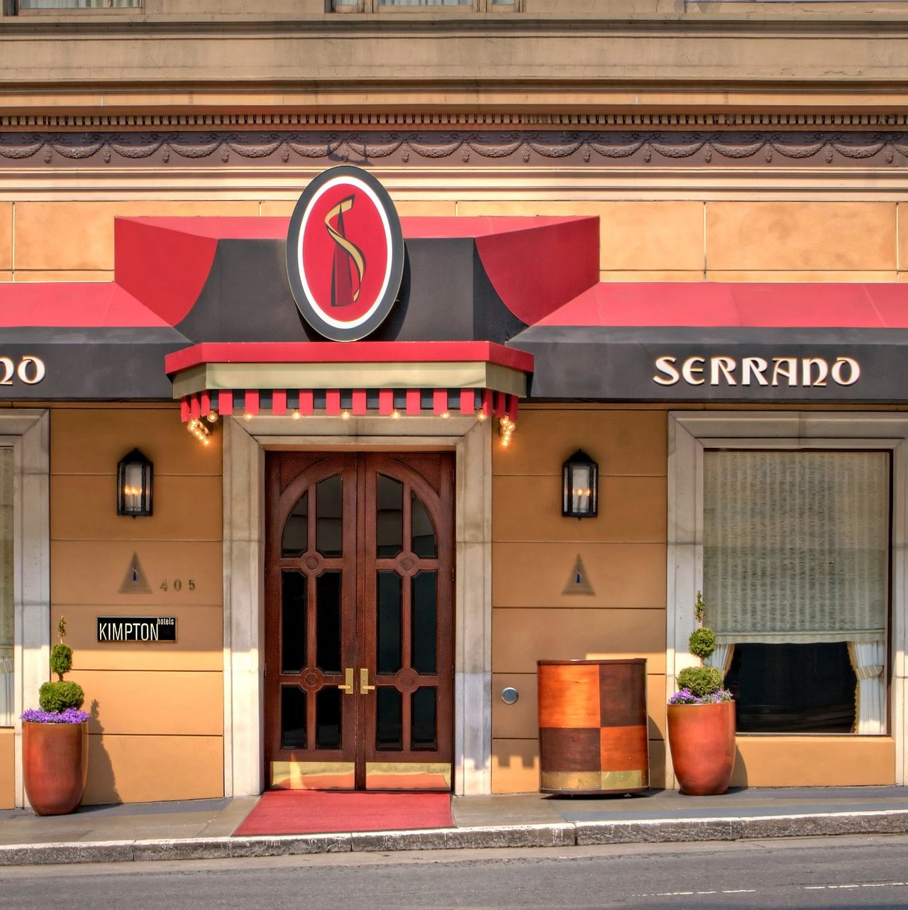 Hotel, Kalifornien: Serrano Hotel