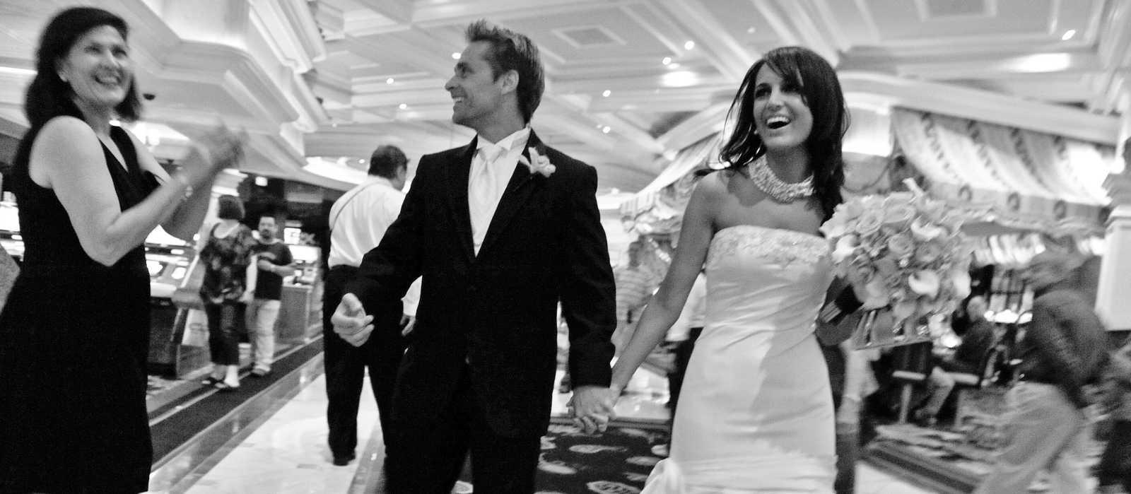 Hochzeit im Bellagio