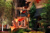 Las Vegas Urlaub: Botanischer Garten im Bellagio Hotel
