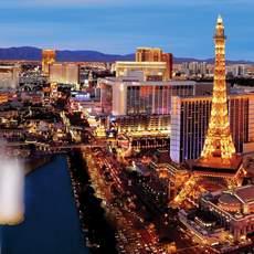 Aussicht vom Cosmopolitan of Las Vegas