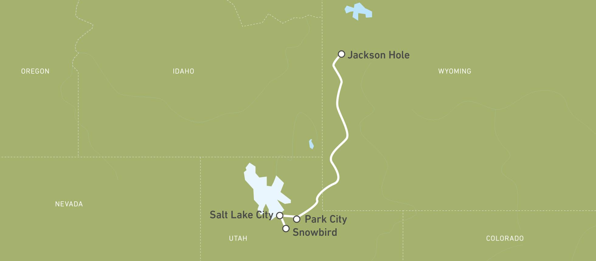 Ski-Safari: Utah & Wyoming   CANUSA