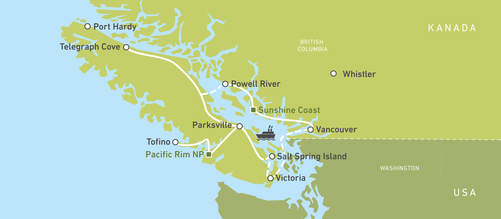 Tofino Bc Map And Information