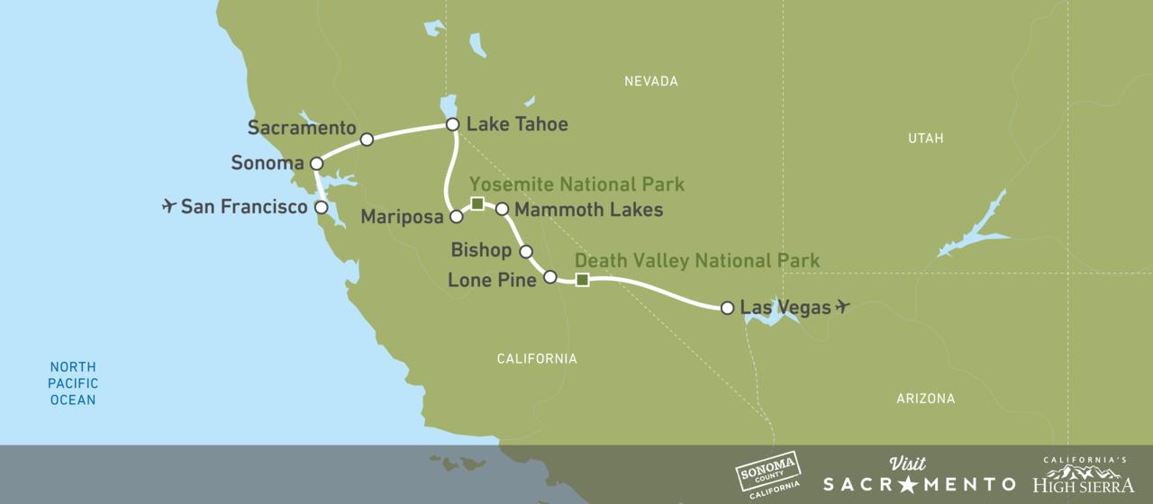 Spektakulären Roadtrip durch Kalifornien & Nevada erleben! | CANUSA