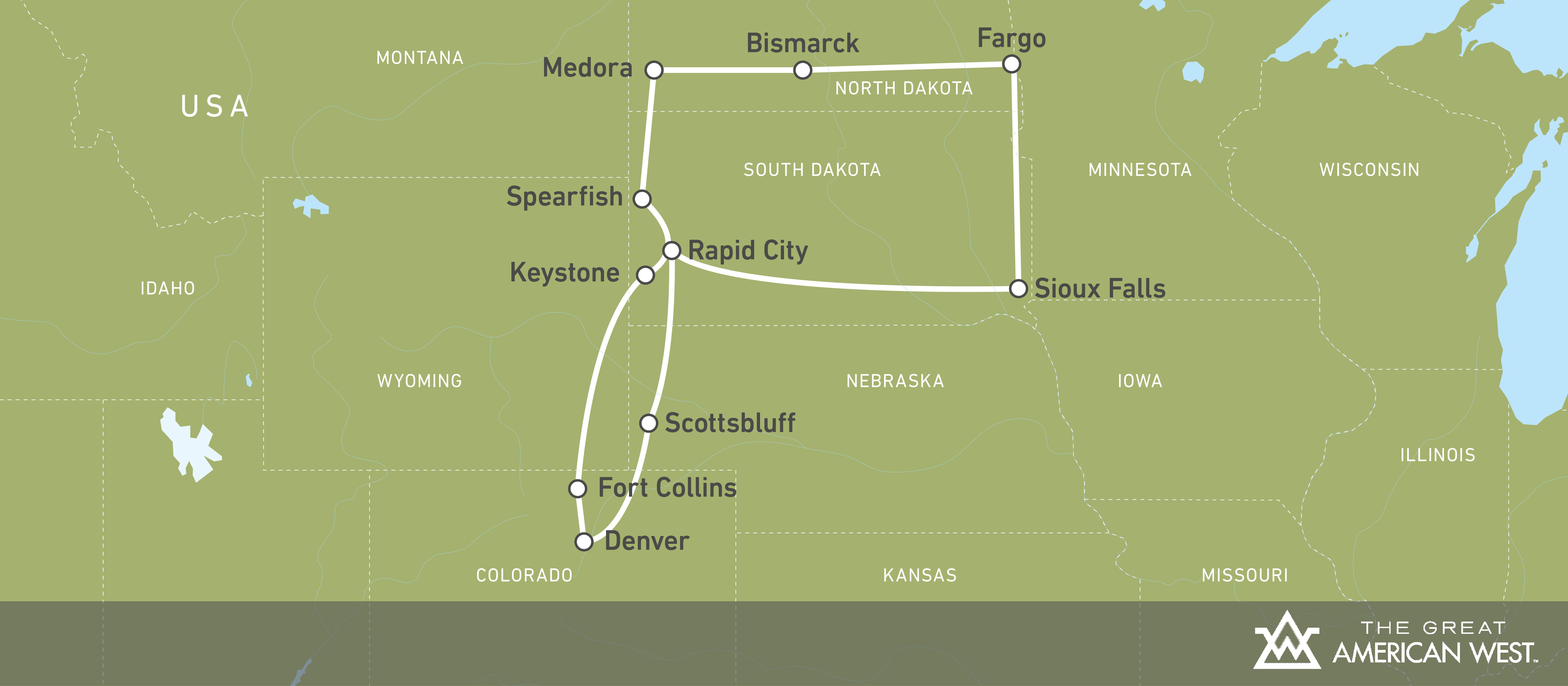 12-tägige Route durch North und South Dakota! | CANUSA