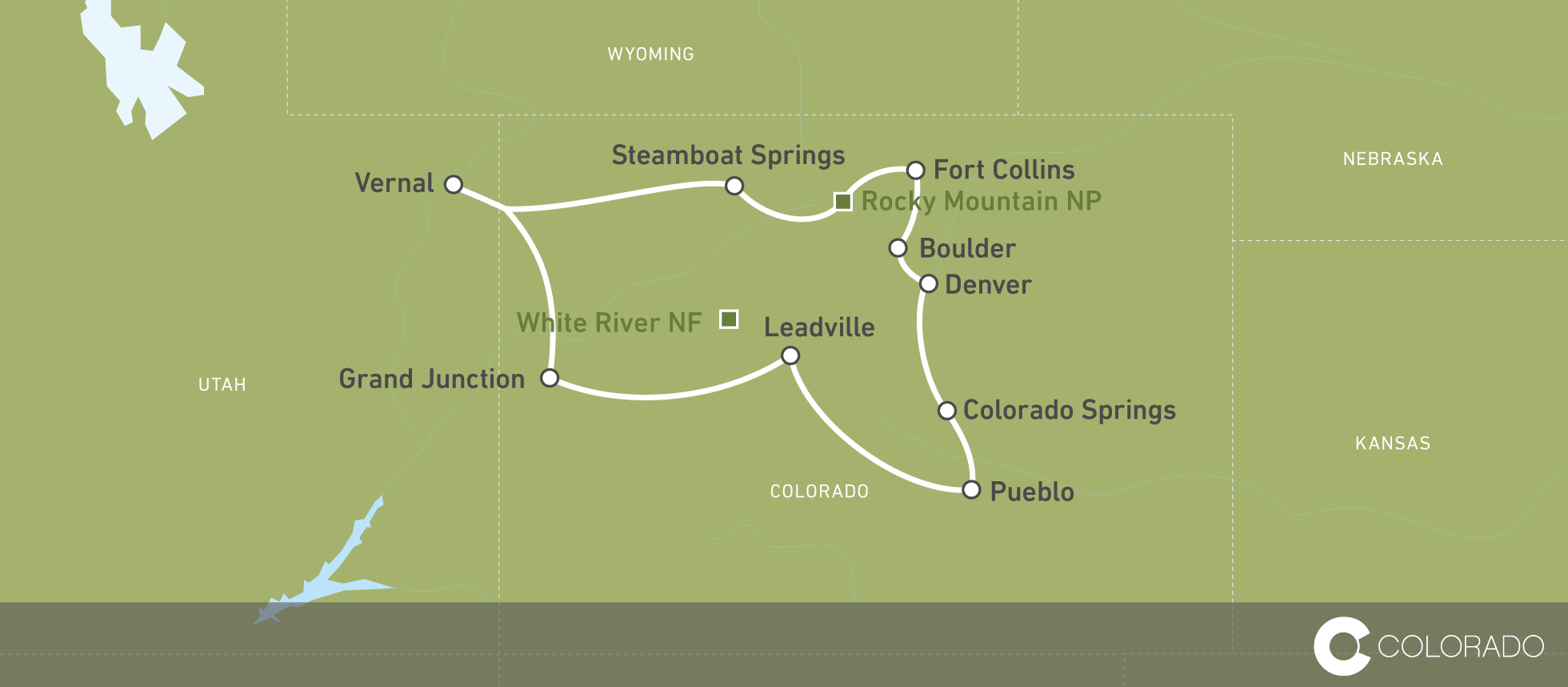 Colorado auf einer 10-tägigen Reise erleben! | CANUSA