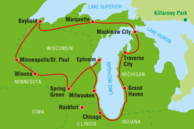 Routenvorschläge USA: Great-Lakes-Staaten