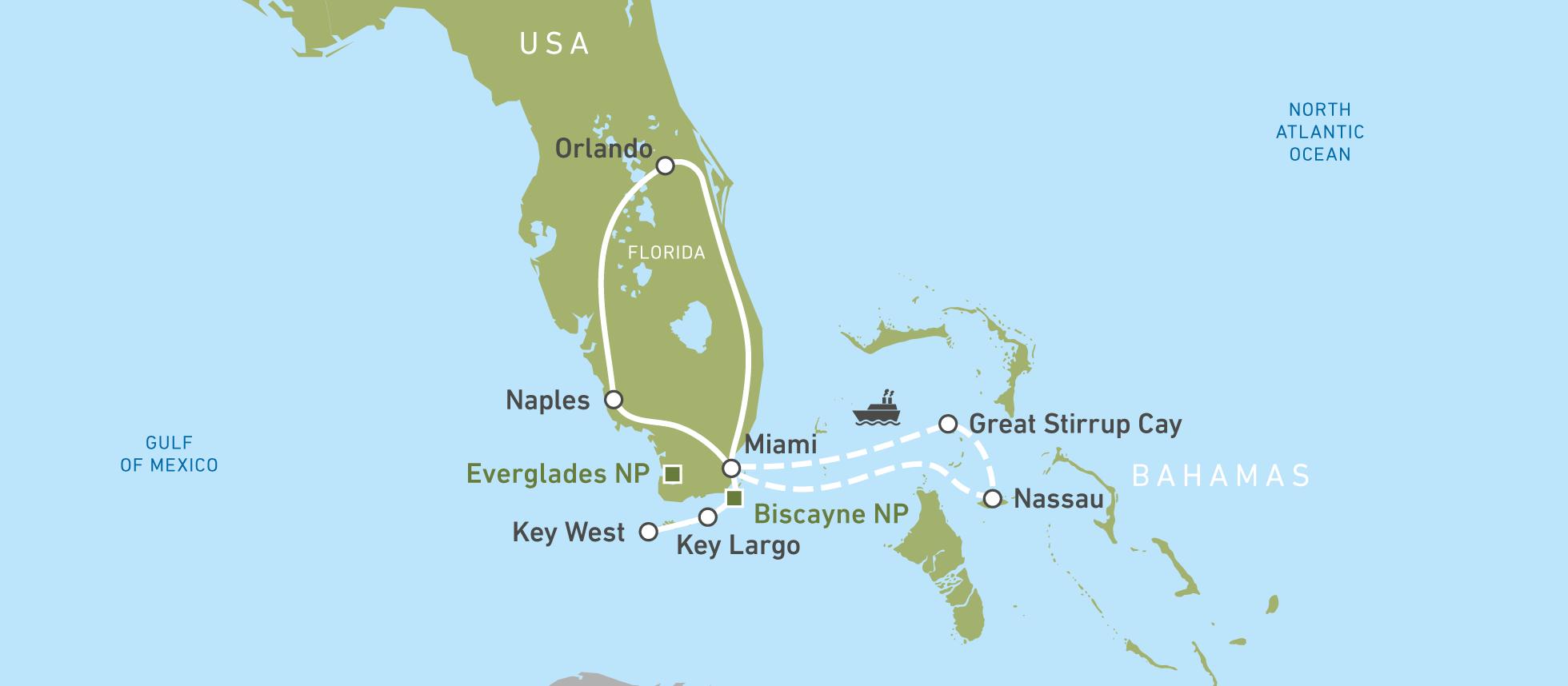 Florida & Bahamas: Urlaub am Golf von Mexiko! | CANUSA