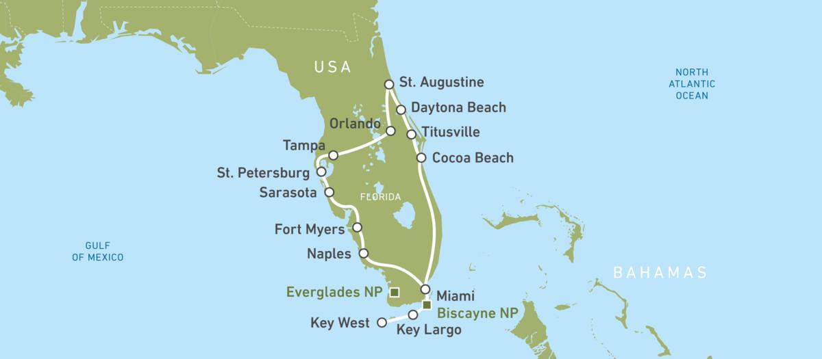 Florida mit dem Auto erleben