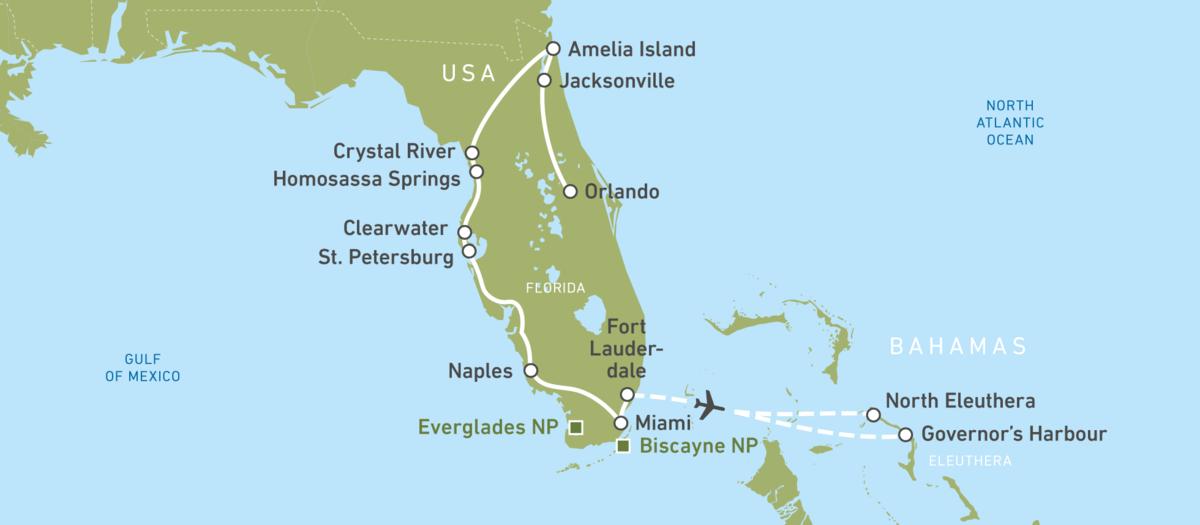 Florida: Autoreise am Golf von Mexiko buchen! | CANUSA